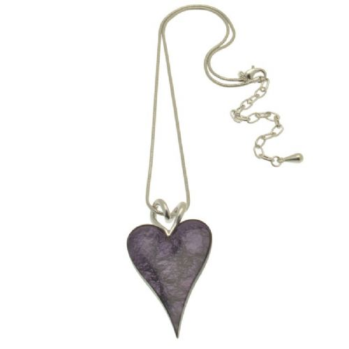 Miss Milly Purple Heart Necklace